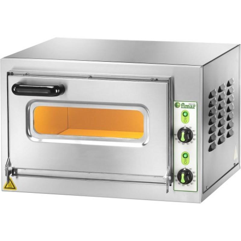 Forno elettrico microv 1c11 fimar for Cottura pizza forno elettrico